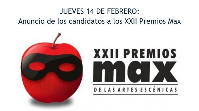 Valladolid será el escenario de los Premios Max 2019