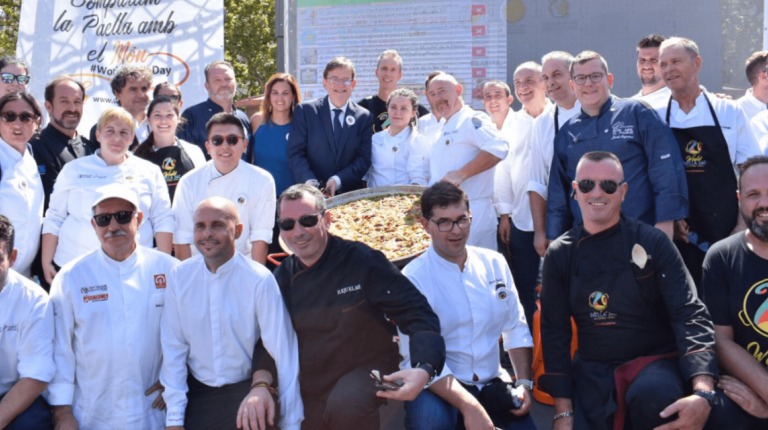 La paella, epicentro de la gastronomía internacional
