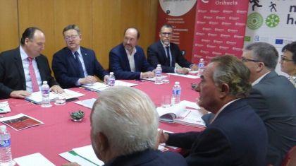 El Consejo de Cámaras de la Comunitat Valenciana se reúne en Orihuela con presencia de Ximo Puig