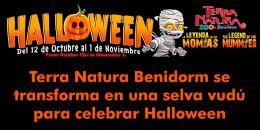 El aviario de Terra Natura Benidorm se transforma en una selva vudú para celebrar Halloween