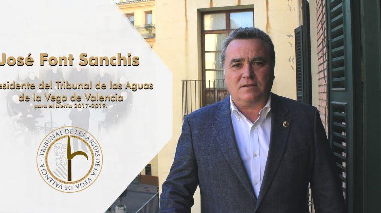 Entrevista a José Font Sanchis, Presidente del Tribunal de las Aguas