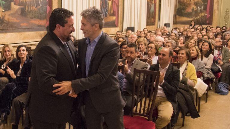 """Grande-Marlaska defiende en la Diputación """"la educación en valores para reforzar la ética pública y evitar prejuicios"""""""