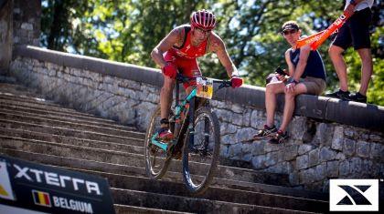 El español Rubén Ruzafa, campeón del triatlón cross XTERRA Belgium. Roger Serrano no logra terminar la prueba