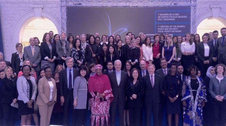 Reunión de la Red de Puntos Focales Nacionales sobre Mujeres, Paz y Seguridad