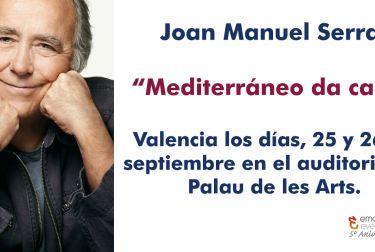 """Joan Manuel Serrat ha anunciado este jueves su nueva gira """"Mediterráneo da capo"""""""
