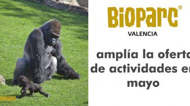 BIOPARC Valencia amplía la oferta de actividades en mayo