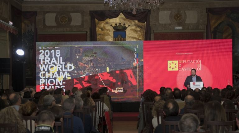 La Diputación trae al bicampeón del mundo de ultratrail Luis Alberto Hernando como parte de 'Castellón Escenario Deportivo'