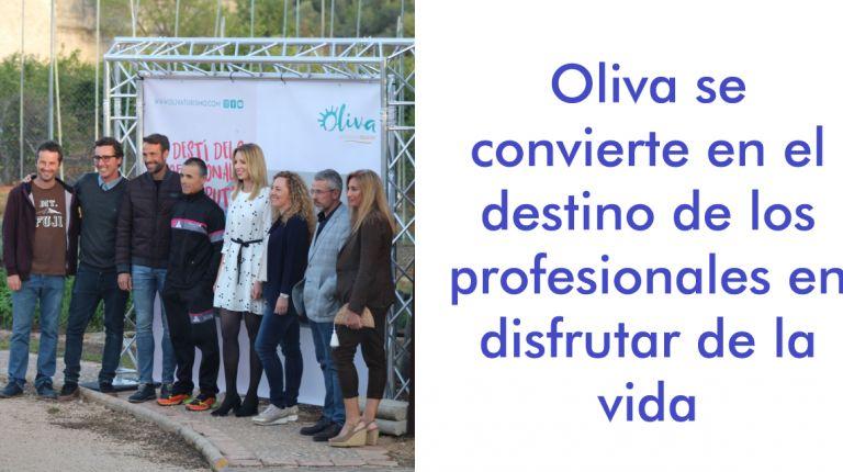 Oliva se convierte en el destino de los profesionales en disfrutar de la vida