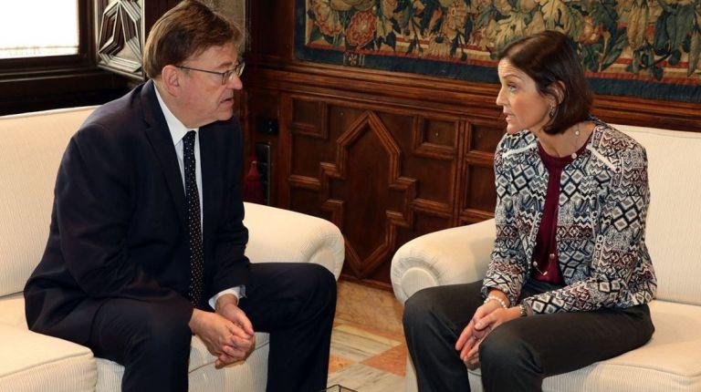 Ximo Puig se reúne con la ministra de Industria, Comercio y Turismo