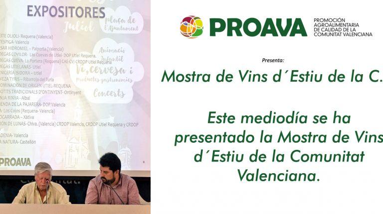 PROAVA ha presentado la Mostra d´Estiu en el Centro de Artesanía