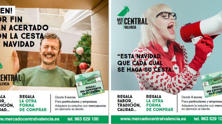 El Mercado Central propone a sus clientes regalar una experiencia especial en Navidad