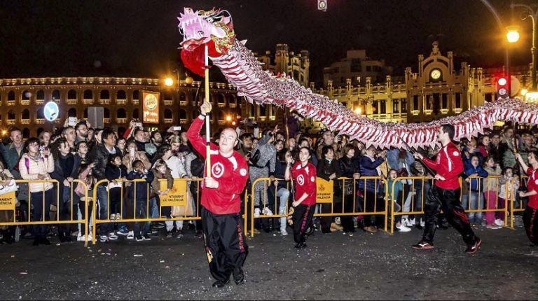 Valencia se prepara para la celebración del Año Nuevo Chino