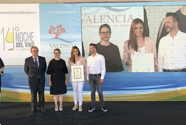Vegamar recogió este Martes el premio al mejor tinto joven valenciano con el Selección Merlot 2017