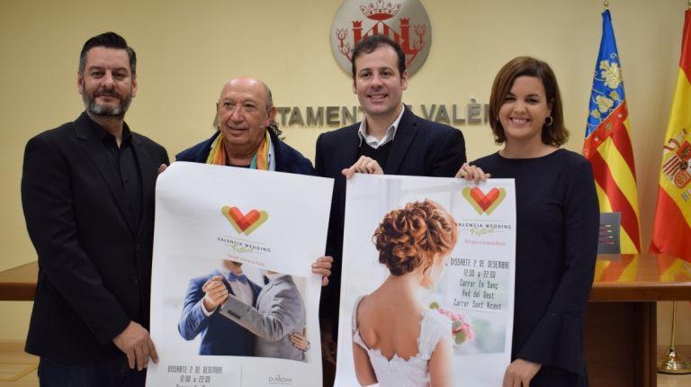 EL AYUNTAMIENTO COLABORA CON EL VALÈNCIA WEDDING FESTIVAL PARA APOYAR Y PROMOVER LA MODA VALENCIANA