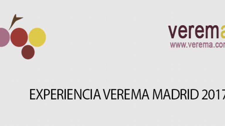 La 5ª edición de la Experiencia Verema Madrid se celebrará el próximo lunes 5 de junio.