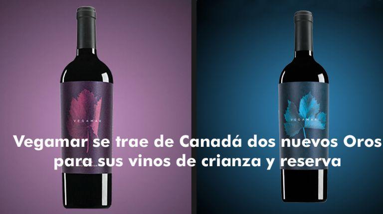 Vegamar se trae de Canadá dos nuevos Oros para sus vinos de crianza y reserva
