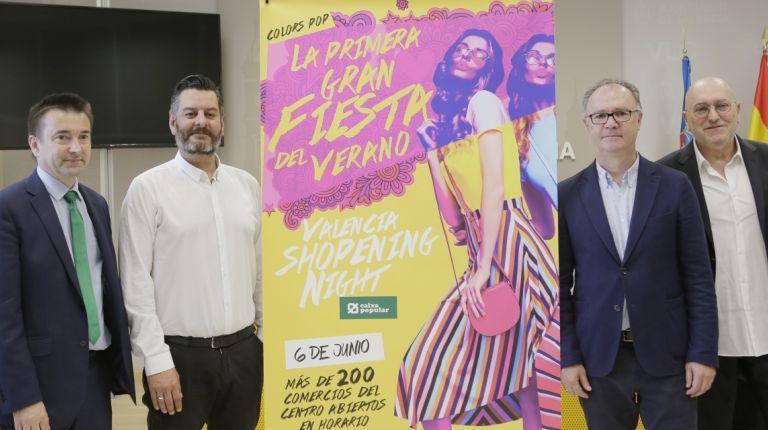 VALÈNCIA CELEBRA ESTE JUEVES UNA NUEVA EDICIÓN DE LA SHOPENING NIGHT BAJO EL LEMA «COLORS POP»