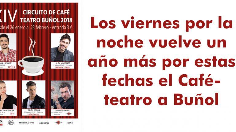 Los viernes por la noche vuelve un año más por estas fechas el Café-teatro a Buñol