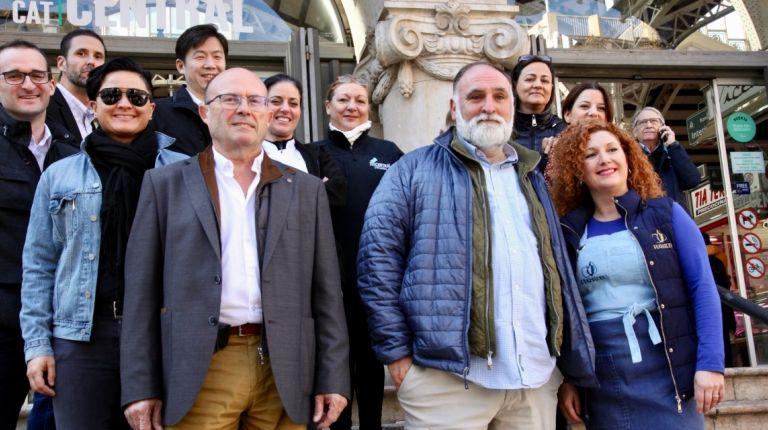 José Andrés: 'el Mercado Central es un mercado de bandera, de los más bonitos del mundo'
