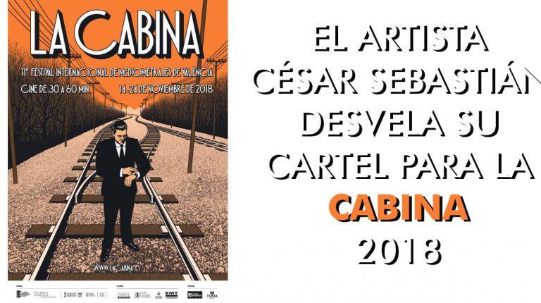 EL ARTISTA CÉSAR SEBASTIÁN DESVELA SU CARTEL PARA LA CABINA 2018
