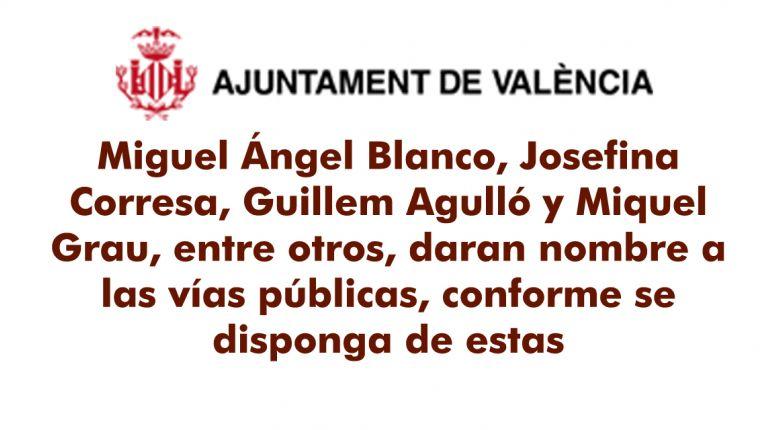 EL AYUNTAMIENTO DEDICARÁ CALLES EN MEMORIA DE MIGUEL ÁNGEL BLANCO Y DE TODAS LAS VÍCTIMAS DEL TERRORISMO