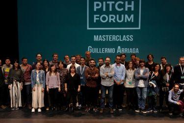Vlc pitch forum entregó los premios al talento de los jóvenes escritores audiovisuales