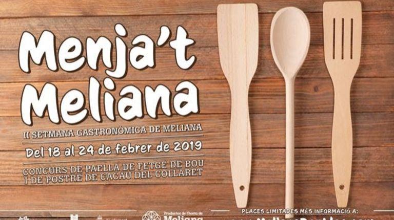 "Meliana presenta las segundas jornadas gastronómicas ""Menja't Meliana"""