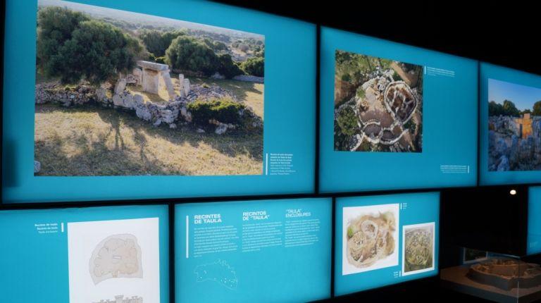 Arrancan las actividades sobre la exposición de arquitectura talayótica en el Museu de Prehistòria