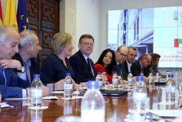 La Generalitat invertirá 106 millones para rehabilitar y ampliar el parque público de vivienda
