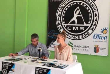 OLIVA SE PREPARA PARA ACOGER EL CIRCUITO MEDITERRANEO  SUP-RACE 2018