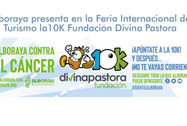 Alboraya presenta en la Feria Internacional de Turismo la10K Fundación Divina Pastora Alboraya contra el Cáncer
