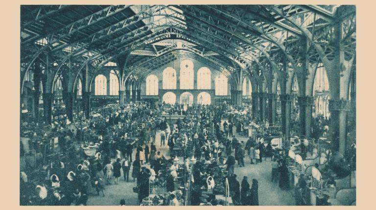 Mañana hará 90 años del día en que los valencianos hicieron sus primeras compras en el Mercado Central