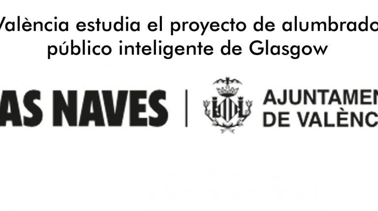València estudia el proyecto de alumbrado público inteligente de Glasgow