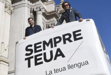 EL BUS DE LA LLENGUA RECORERRÁ LAS CALLES DE VALÈNCIA DURANTE LA SEMANA FALLERA