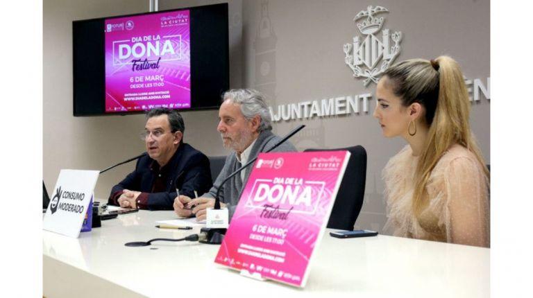 Valencia se teñirá de violeta con motivo de la tercera edición del Dona Festival