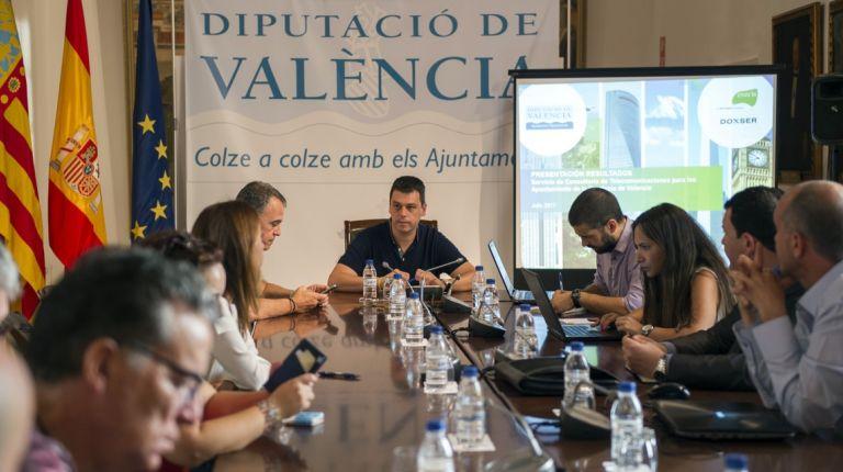 Un estudio piloto de la Diputación de Valencia permite optimizar los servicios de telecomunicaciones a los Ayuntamientos