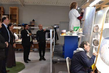 Moliner refuerza su respaldo a la industria cerámica como emblema de la provincia de cara a Cevisama