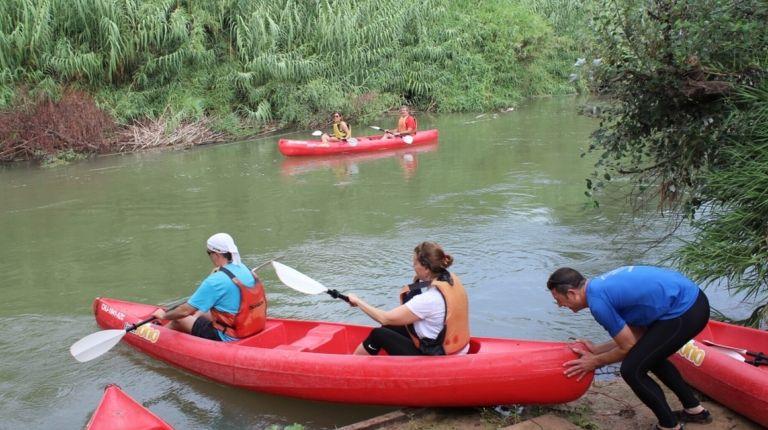 Alzira busca recuperar el uso deportivo del río Xúquer