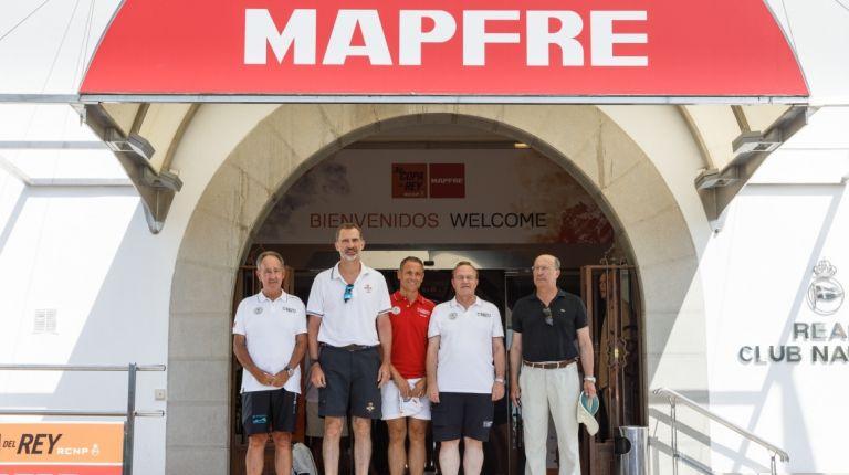 S.M. El Rey Felipe VI ha llegado esta mañana al Real Club Náutico de Palma