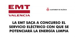 LA EMT SACA A CONCURSO EL SERVICIO ELÉCTRICO CON QUE SE POTENCIARÁ LA ENERGÍA LIMPIA