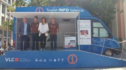 Valencia estrena un Punto Móvil de Información Turística