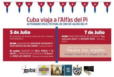 Mañana arranca el 31 Festival de Cine de l'Alfàs con una noche dedicada a Cuba y el 40 aniversario del Cine Roma
