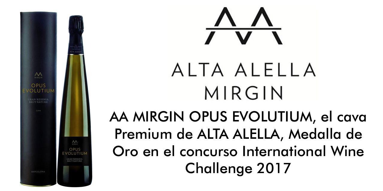 AA MIRGIN OPUS EVOLUTIUM, el cava Premium de ALTA ALELLA