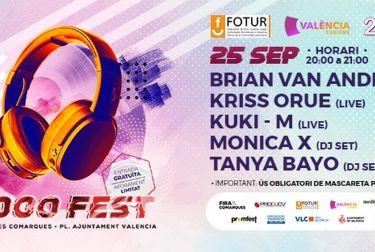 """El 2000 Fest en la """"Fira de les Comarques"""" de la mano de  Fotur, con dj's valencianos e internacionales"""