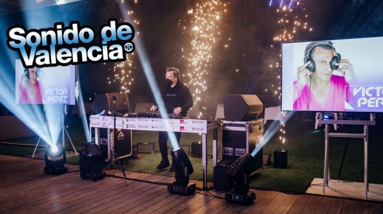 Este año Fotur no ha querido dejar de celebrar el Fallas Remember, Sonido de Valencia