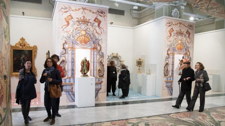 La exposición de arte sacro de la Diputación La Llum de la Memòria encara su recta final en Castelló con cifra récord de visitantes