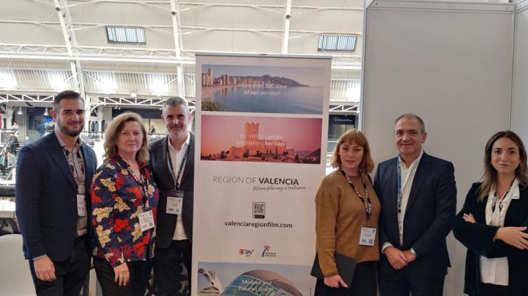 València Film Office participa en Focus London