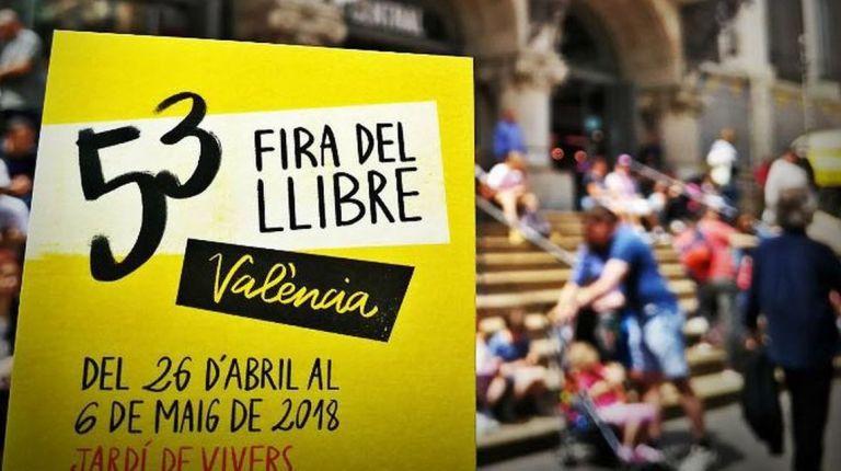 El Mercado Central,en la Feria del Libro de Valencia