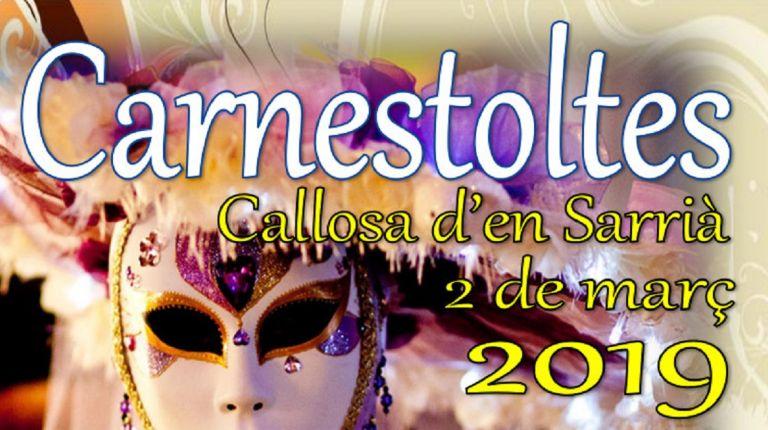 La fiesta de Carnaval de Callosa d'en Sarrià tendrá lugar el 2 de marzo