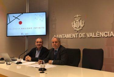 """El concejal de turismo presenta la campaña """"valència navidad infinita"""